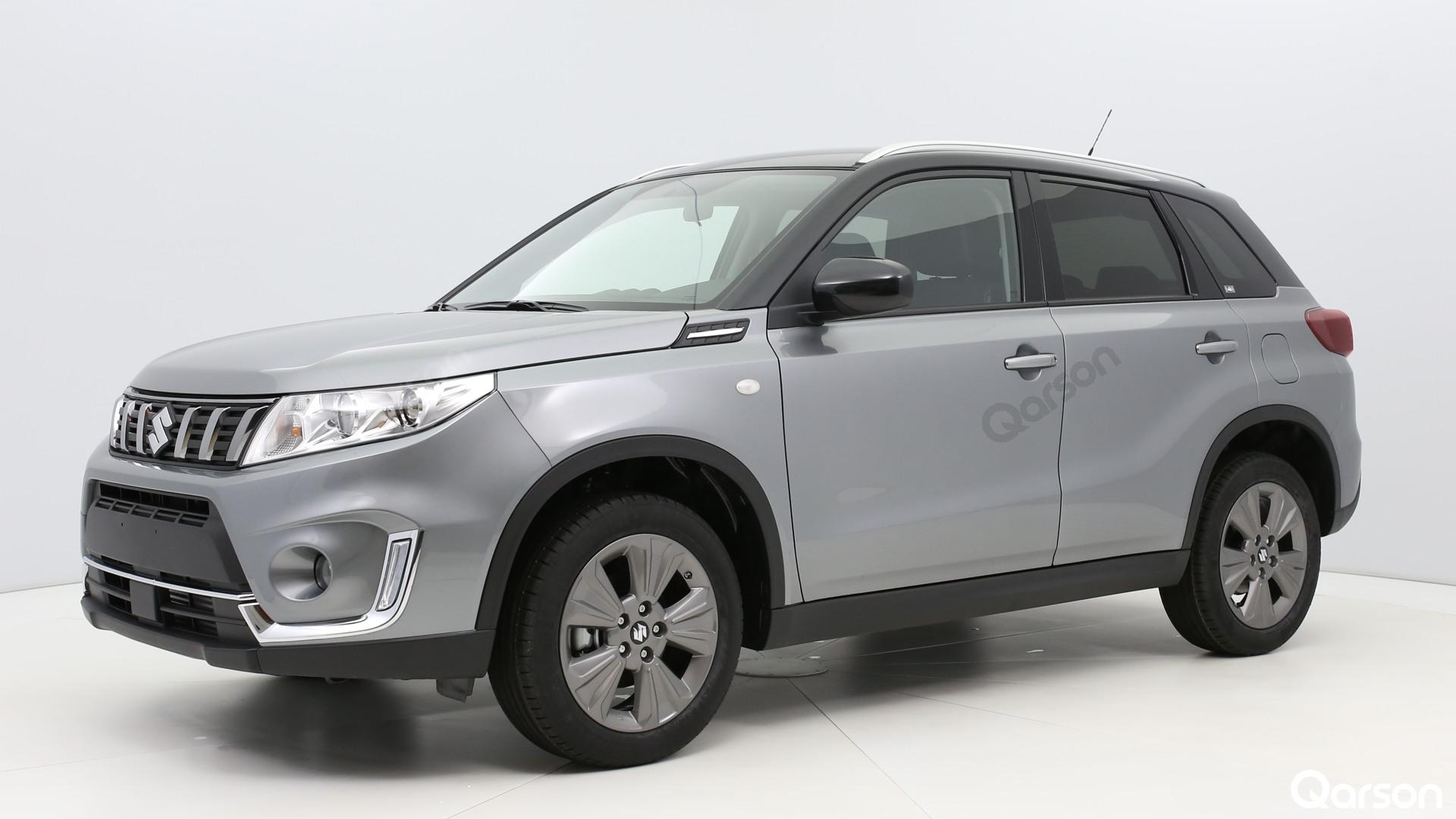 Suzuki Vitara Facelift Widok z przedniego lewego boku kąt 60 stopni