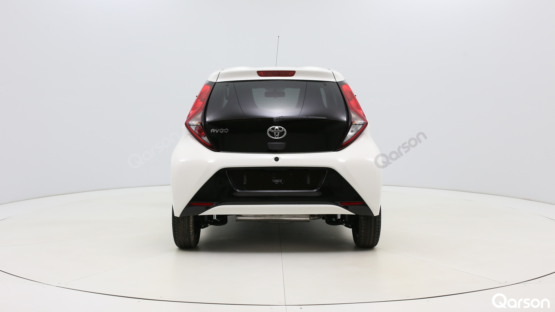 Toyota Aygo 5D Widok tyłu auta