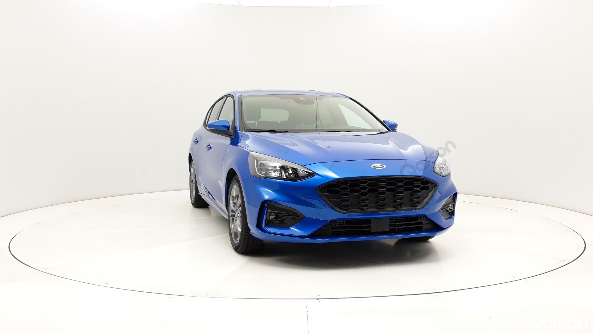 Ford Focus 5D Widok auta przedni prawy bok kąt 340 stopni