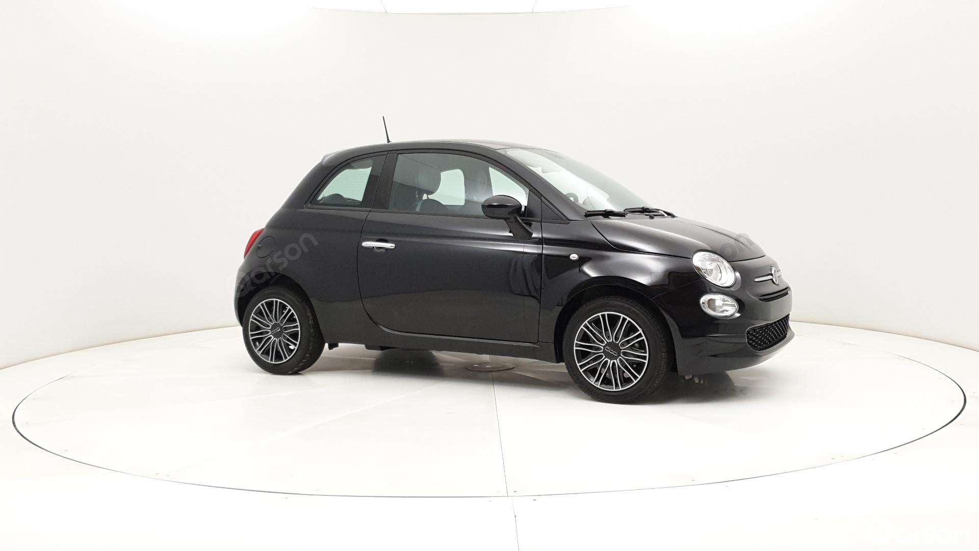 Fiat 500 3D Widok z przedniego prawego boku kąt 300 stopni