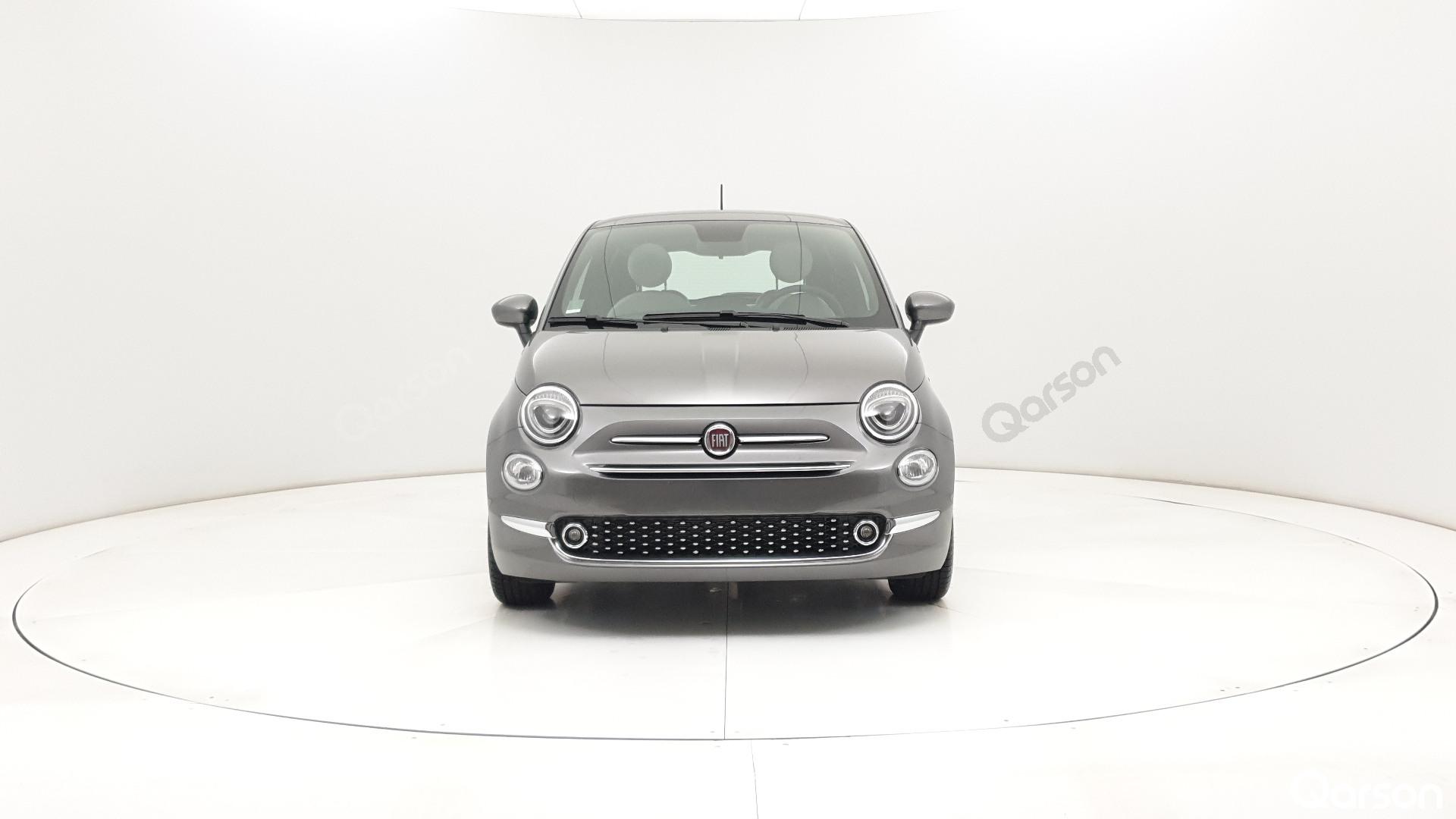 Fiat 500 3D Widok przodu samochodu