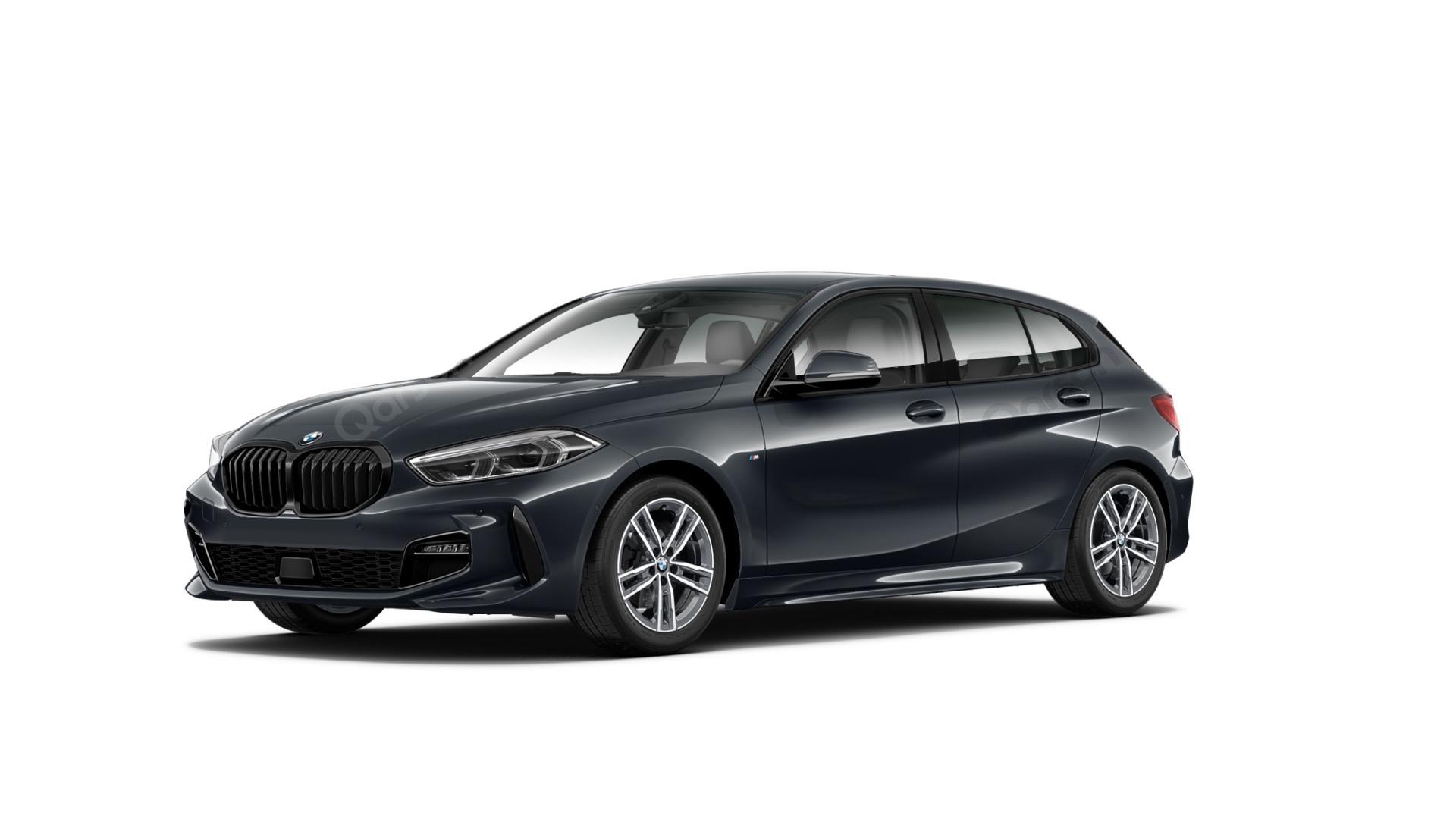 BMW 1 5D Widok z przedniego lewego boku kąt 70 stopni